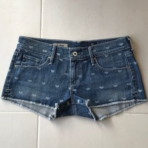 AG Adriano Goldschmied The Daisy Low Rise Shorts